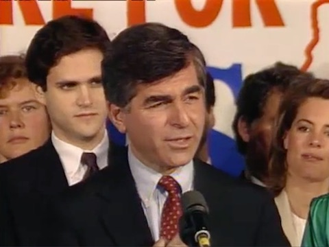 Michael Dukakis Declares Presidential Candidacy