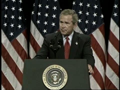 Speech by President George W. Bush in Portland, Oregon