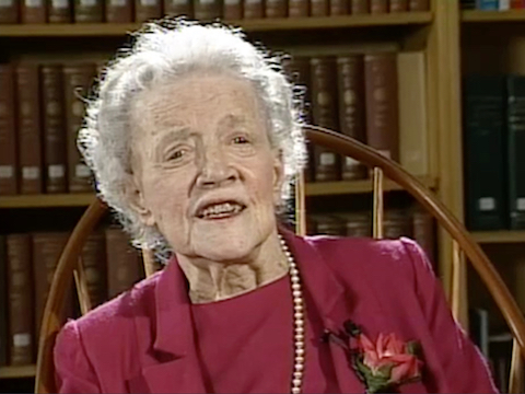Interview with Margaret Chase Smith
