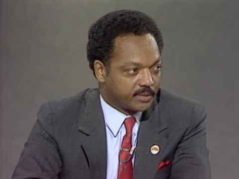 Interview with Presidential Candidate Rev. Jesse Jackson