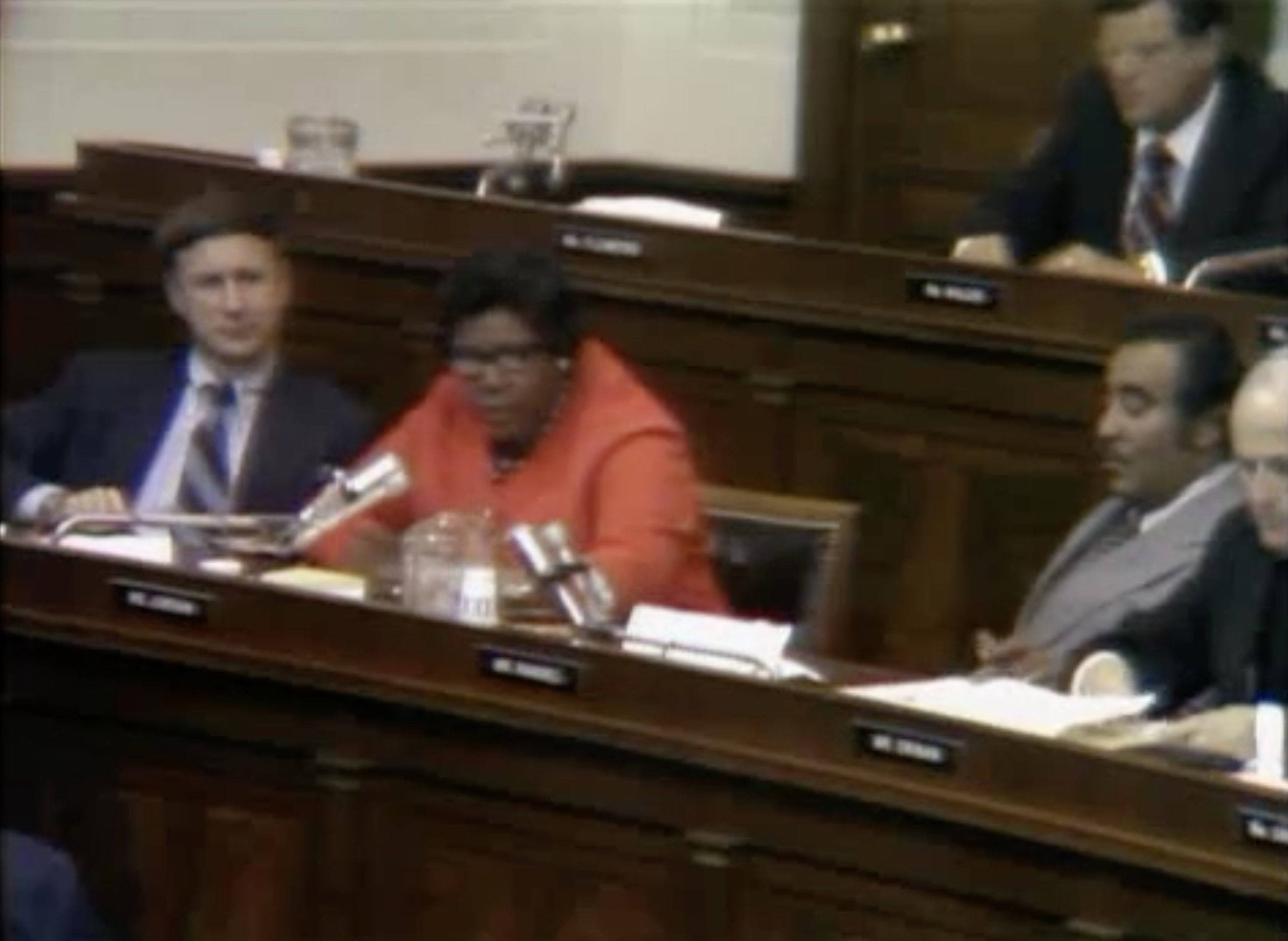 1974 Nixon Impeachment Hearings; Rep. Barbara Jordan